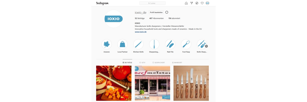 IOXIO now on Instagram - IOXIO at Instagram and Facebook