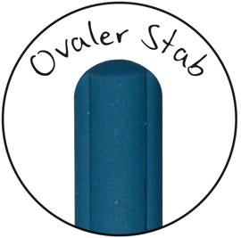 Ovaler Keramik Wetzstab